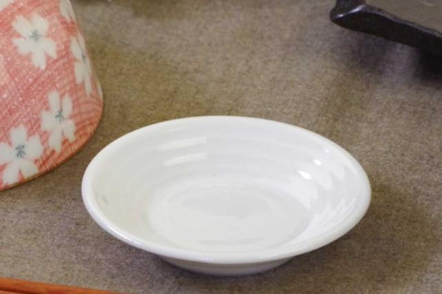 白8.0cm小皿