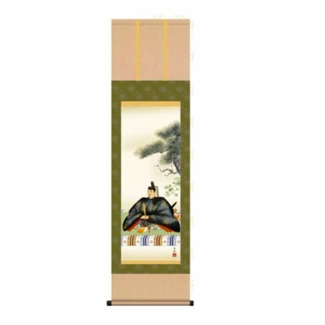 掛軸 【天神】 [小野洋舟] 尺三 [T1MC4-036]【代...