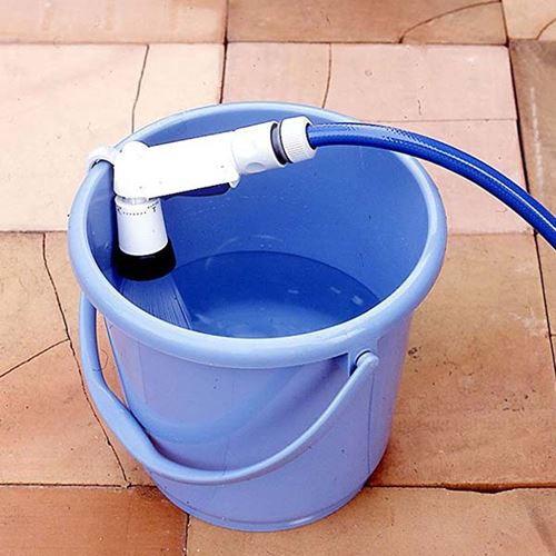 散水ノズル ブルー 4パターン ホースヘッド シャ...