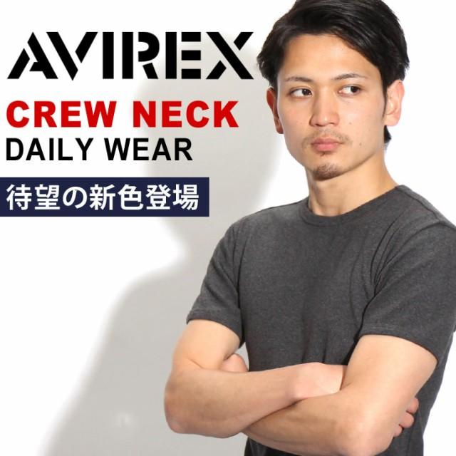 AVIREX Tシャツ クルーネック デイリー アビレッ...