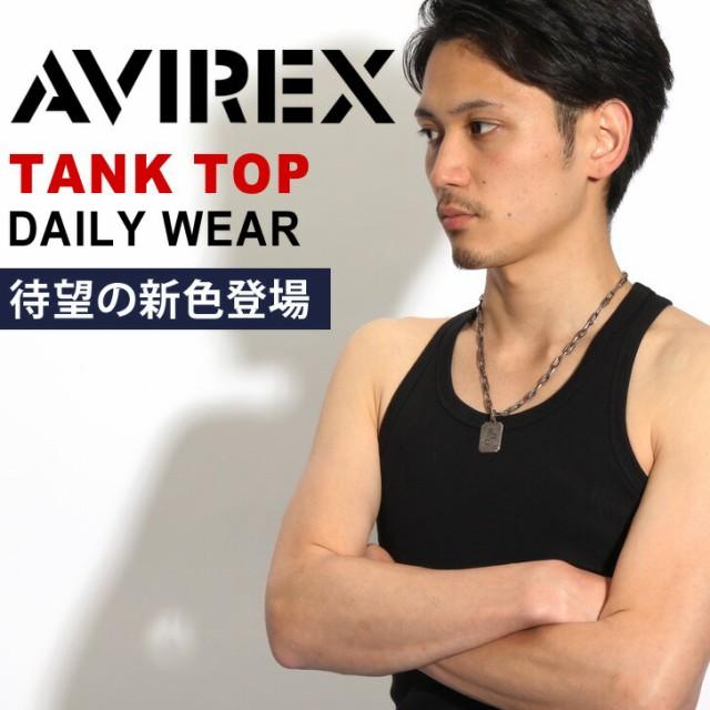 AVIREX タンクトップ デイリー Tシャツ アビレッ...