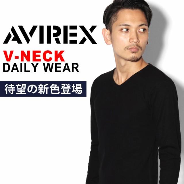 メール便送料無料 AVIREX デイリー Tシャツ メン...