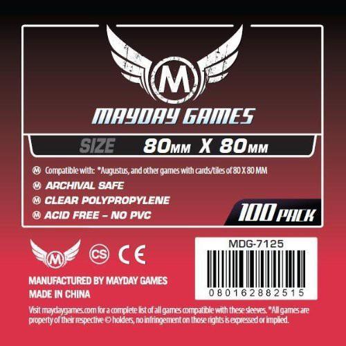 0080162882515:MDG-7125 カードスリーブ 80mmx80m...