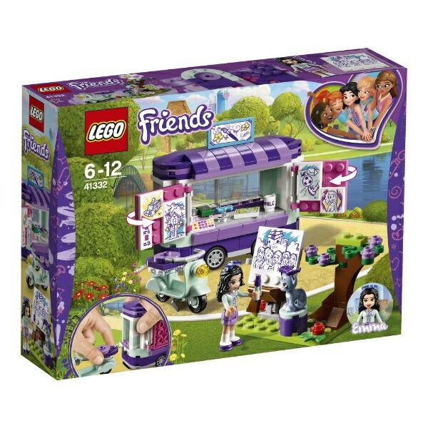 5702016077438:レゴ フレンズ エマのお絵かきワゴ...