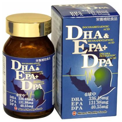 DHA&EPA+DPA(120球) [ミナミヘルシーフーズ](サ...