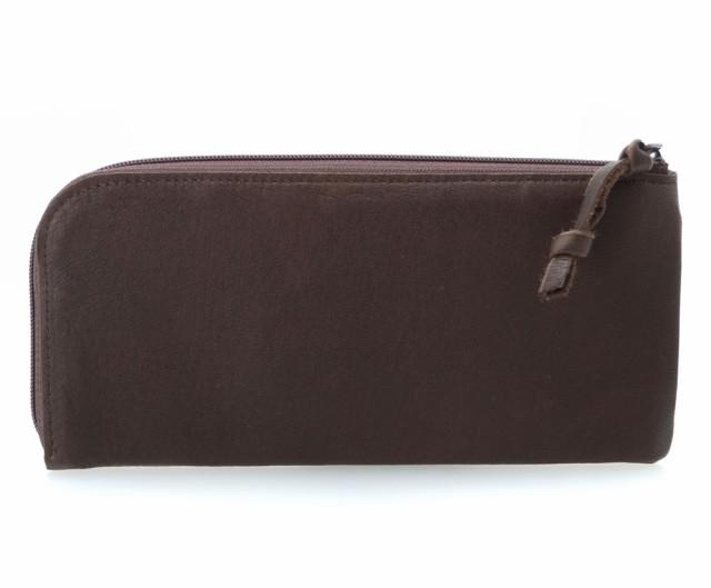 ディアスキン L型 長財布 チョコレートブラウン ...