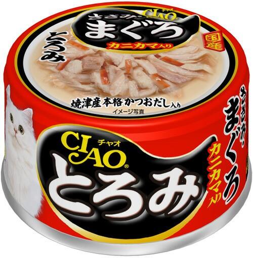 チャオ とろみ ささみ・まぐろ カニカマ入り 缶詰...