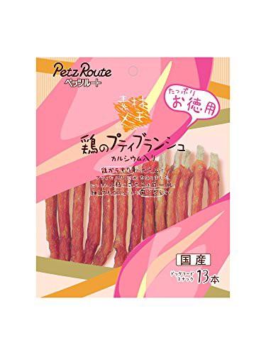 ペッツルート 鶏のプティブランシュ お徳用 13本 ...