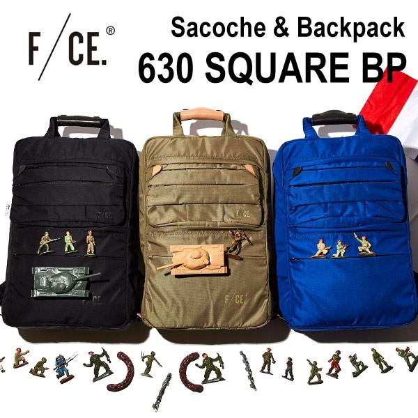 F/CE.(エフシーイー)630 SQUARE BP サコッシュ付...