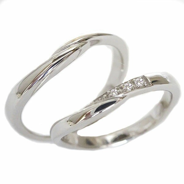 結婚指輪 マリッジリング シルバー ペアリング ダ...