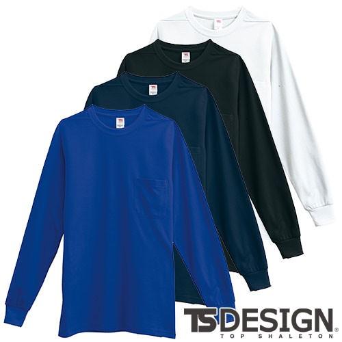 Tシャツ 長袖 藤和 TS Design 長袖Tシャツ 1095 ...