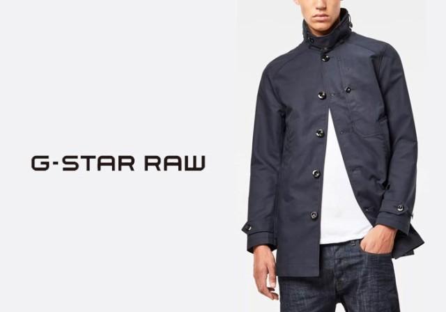 G-STAR RAW[ジースターロウ] Garber Trench コー...