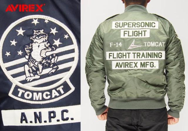 AVIREX[アヴィレックス] L-2B トムキャット ジャ...