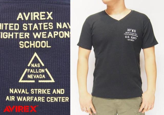 AVIREX[アヴィレックス] 半袖 N.F.W.S ワッフル V...