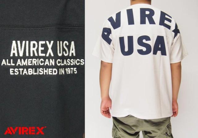 AVIREX[アヴィレックス] ビッグロゴ Tシャツ/6183...