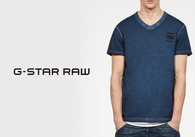 G-STAR RAW[ジースターロウ] Doax V-Neck Tシャツ...