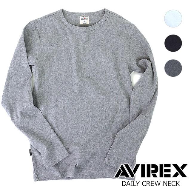 【即納】AVIREX アヴィレックス  DAILY CREW NECK...