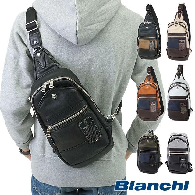 【即納】Bianchi ビアンキ バッグ TBPI-02 PU LEA...