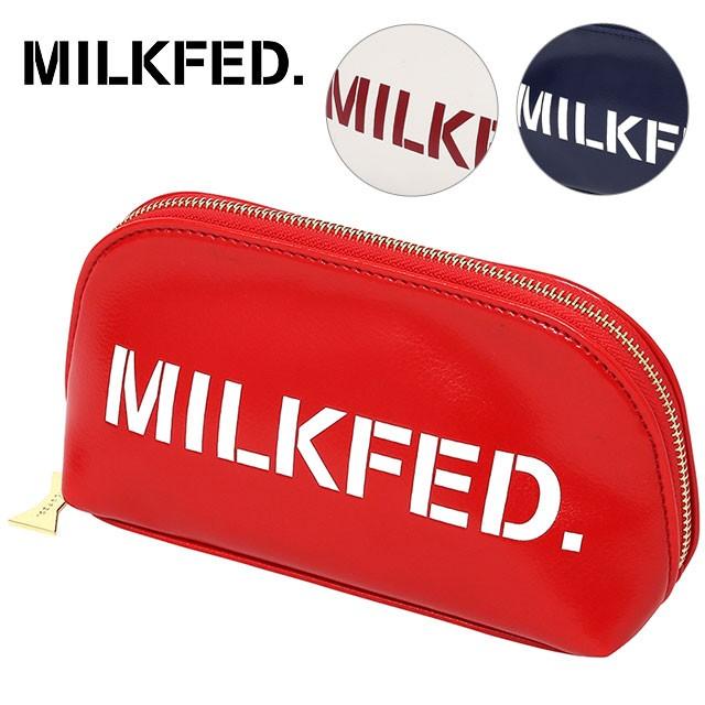 【即納】MILKFED ミルクフェド LOGO POUCH ロゴ ...