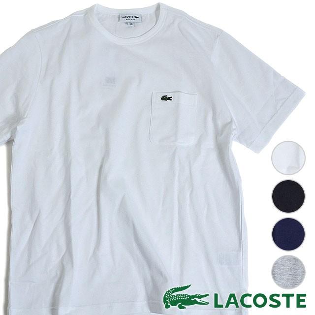 【即納】LACOSTE ラコステ メンズ Tシャツ POCKET...