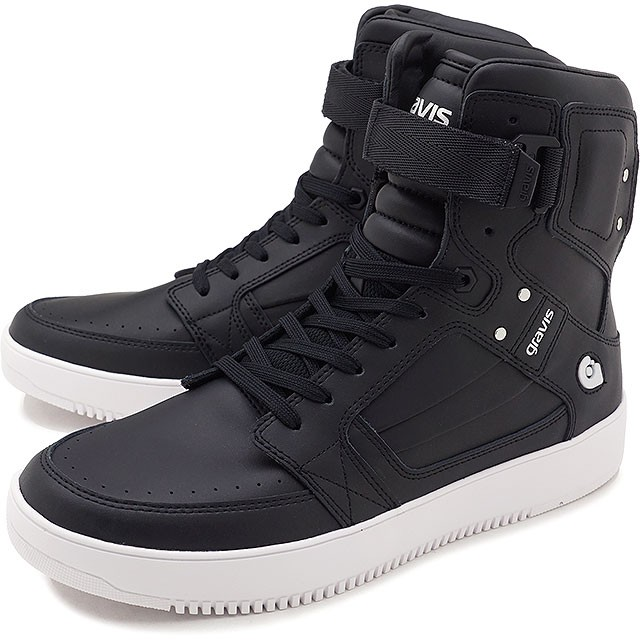 【即納】gravis グラビス スニーカー 靴 メンズ BARBADOS バルバドス BLACK ブラック (11170)