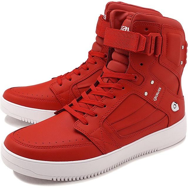 【即納】gravis グラビス スニーカー 靴 メンズ BARBADOS バルバドス RED (11170)