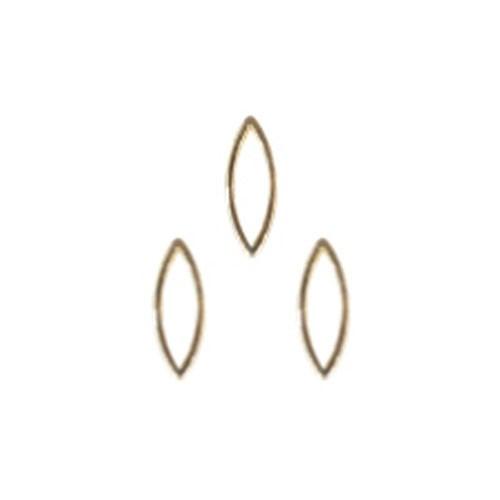Bonnail ×RieNofuji ループリーフ S ゴールド 10...