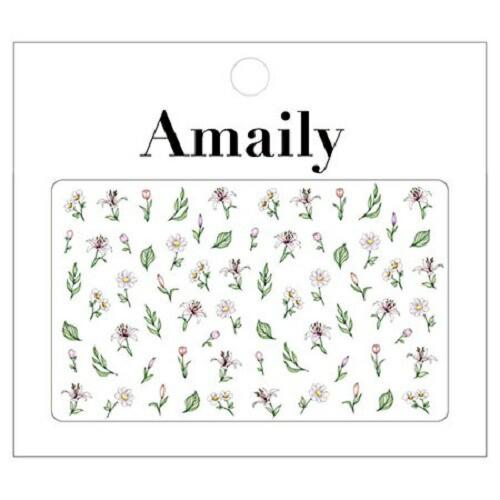 Amaily ネイルシール No. 1-16 ボタニカル 【ネイ...