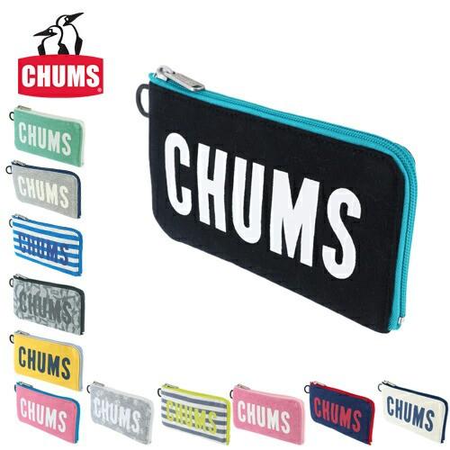 チャムス/CHUMS/L字ファスナー長財布/スウェット/...
