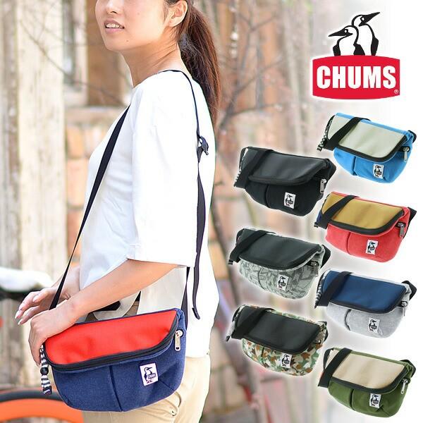 チャムス/CHUMS/ジップフラップショルダー/スウェ...