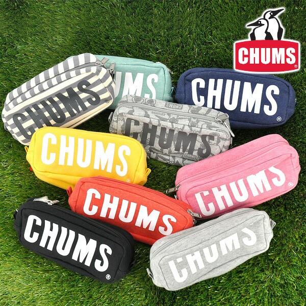 チャムス/CHUMS/ポーチ/ボートロゴポーチ/スウェ...