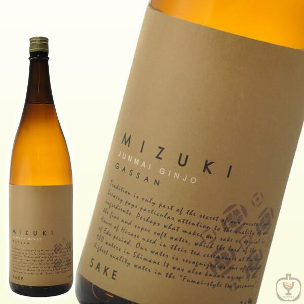 月山 きもと 純米吟醸 美月 MIZUKI 1800ml ...
