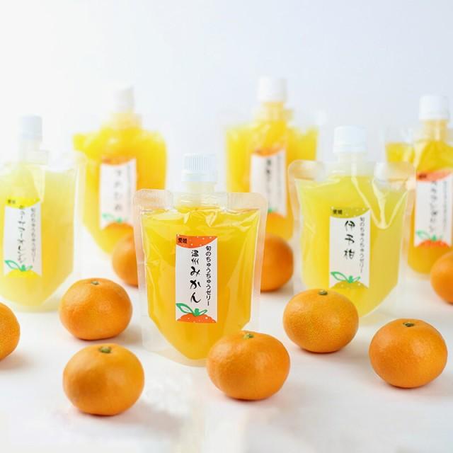 お取り寄せ ちゅうちゅうゼリー 旬の柑橘 気まぐ...