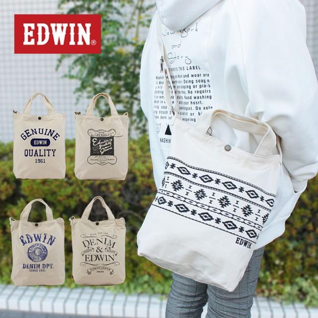 エドウィン EDWIN 2WAY ショルダートート トート...