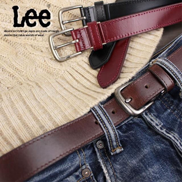 リー Lee 牛革ベルト 0120453
