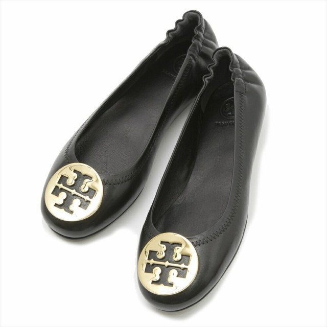 TORY BURCH MINNIE TRAVEL BALLETシューズ 32880 002