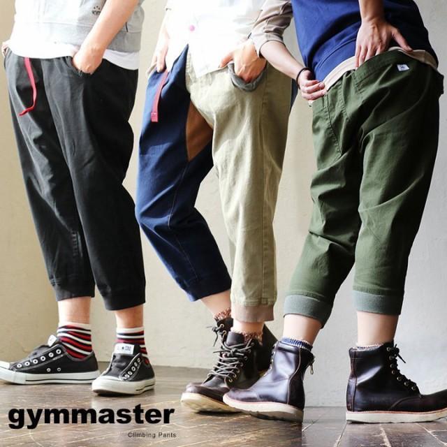 (ジムマスター) gymmaster クロップドパンツ リ...