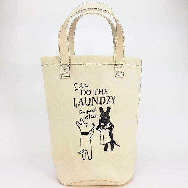 リサとガスパール ランドリーバッグS ランドリー...