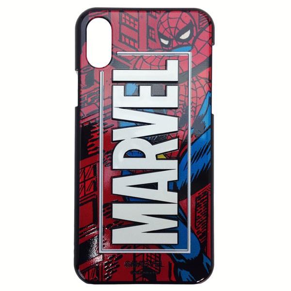 MARVEL スパイダーマン iphone X ケース iphoneX ...