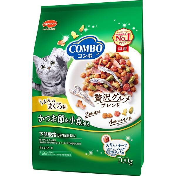 コンボ キャット まぐろ味・かつおぶし・小魚添え...