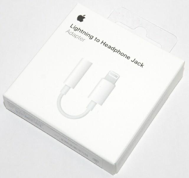 アップル純正 Apple Lightning - 3.5mmヘッドフォ...