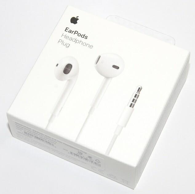 アップル Apple純正 EarPods with 3.5 mm Headpho...