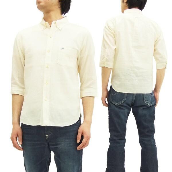 フェローズ 7分袖ボタンダウンシャツ P7BD1 Pherr...