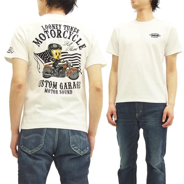 トゥイーティー Tシャツ 525401 TWEETY バイク ロ...