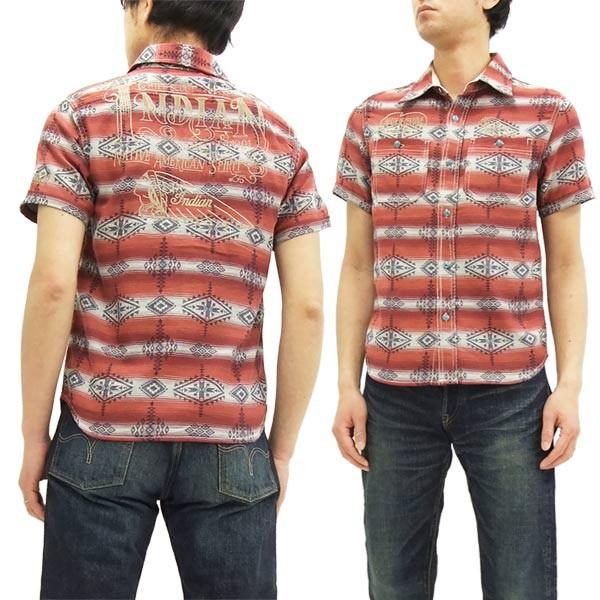 インディアンモトサイクル ワークシャツ IMSS-702...
