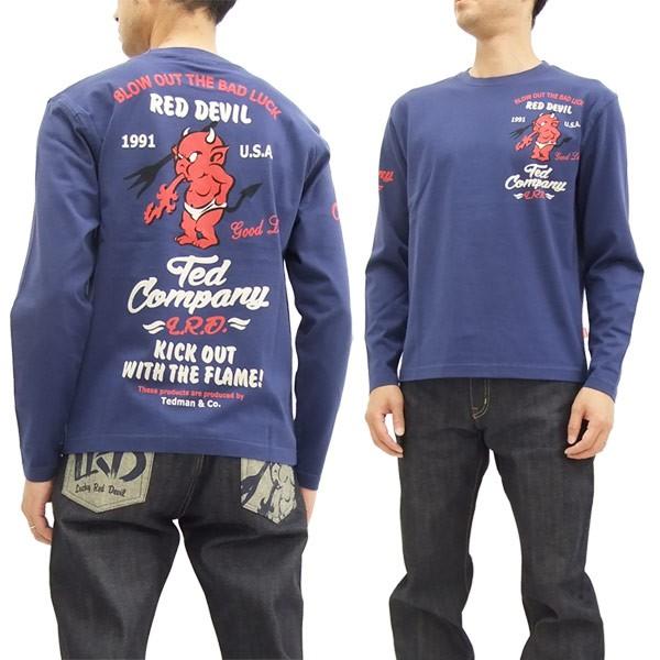 テッドマン 長袖Tシャツ TDLS-314 TEDMAN エフ商...