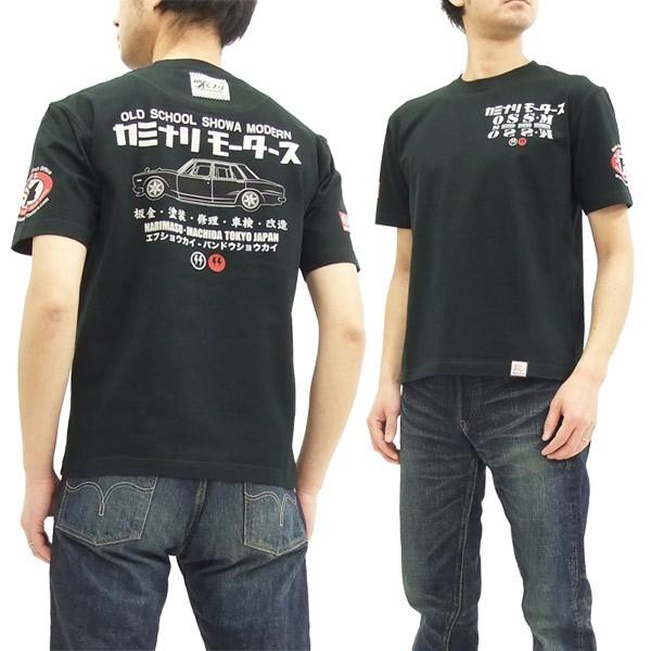 カミナリ Tシャツ KMT-160 ハコスカ 4ドア 昭和 ...