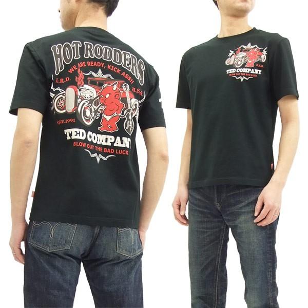 テッドマン Tシャツ TDSS-475 TEDMAN ホットロッ...