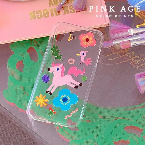 [Ponys Tail] 携帯ケース (play pattern)