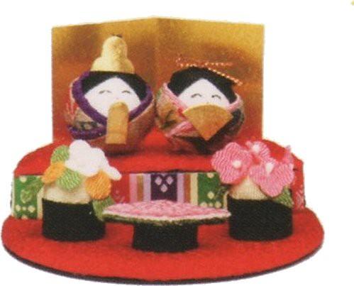 雛人形(ひな人形)ひなまつりコロコロ雛丸段飾り...